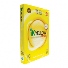 IK Yellow Paper 80gsm - A3 size  (450 sheets)
