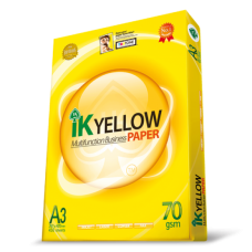 IK Yellow Paper 70gsm - A3 size  (450 sheets)