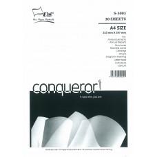 Conqueror Paper A4 size 100gsm Brilliant White(20 sheets)