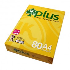 IK Plus Paper 80gsm - A4 size  (500 sheets)