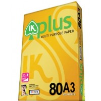 IK Plus Paper 80gsm - A3 size  (500 sheets)
