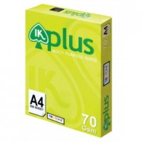 IK Plus Paper 70gsm - A4 size  (500 sheets)
