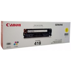 CANON TONER CARTRIDGE 418 YELLOW