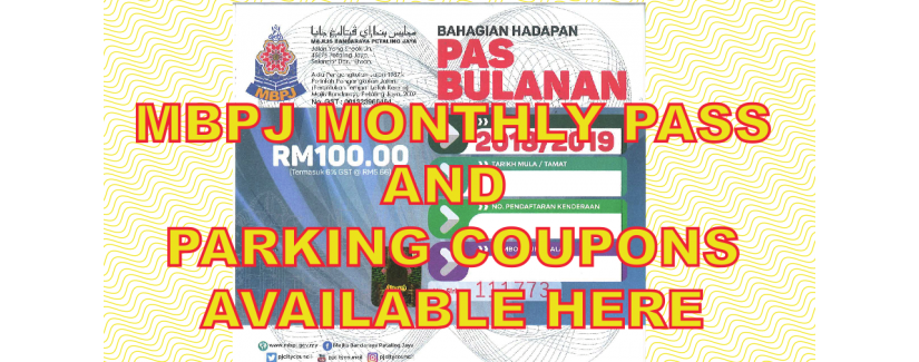 MBPJ Parking Coupon Hourly
