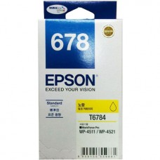 Epson 678 Yellow Ink Cartridge Standard Capacity - 1.2k (C13T678490)