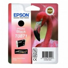 Epson T0871 Stylus photo Ink Cartridge - Photo Black (EPS T087190)