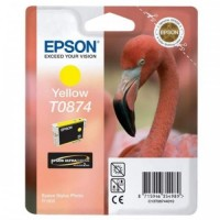 Epson T0874 Stylus photo Ink Cartridge - Yellow (EPS T087490)