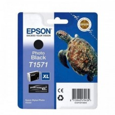 Epson T1571 Ink Cartridge - Photo Black (EPS T157190)