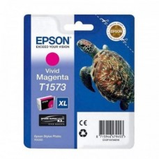 Epson T1573 Ink Cartridge - Vivid Magenta (EPS T157390)