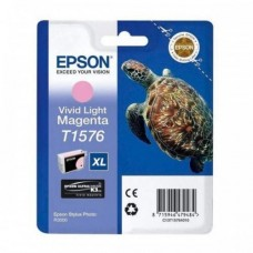 Epson T1576 Ink Cartridge - Vivid Light Magenta (EPS T157690)