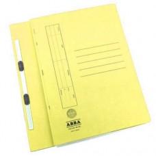 ABBA FLAT FILE 350(PM)PLASTIC CLIP YEL