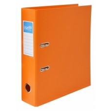 BANTEX COLOUR ARCH FILE 75MM ORANGE