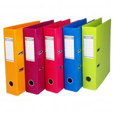 BANTEX COLOUR ARCH FILE 75MM COBALT BLUE