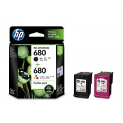 HP 680 Combo-pack Black & Tri-color Ink Cartridges (X4E78AA)