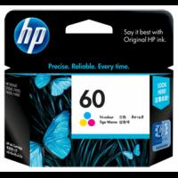 HP 60 Tri-Color Ink Cartridge - CC643WA