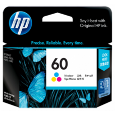 HP 60 Tri-Color Ink Cartridge - CC643WA