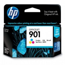 HP 901 Tri-color Officejet Ink Cartridge - CC656AA