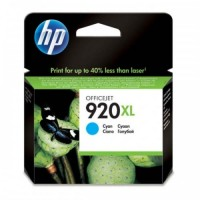 HP 920XL Cyan Officejet Ink Cartridges - CD972AA