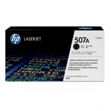 HP 507A Black LaserJet Toner Cartridge -  CE400A