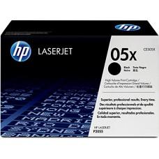 HP LaserJet Black Print Cartridge, yeild approx 6500 pgs -  CE505X