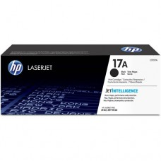 HP 17A Black Original LaserJet Toner Cartridge -  CF217A