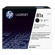 HP 81X Black LaserJet Toner Cartridge -  CF281X