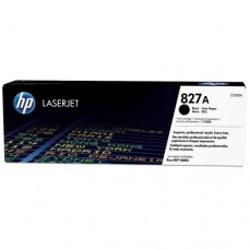 HP 827A Black LaserJet Toner Cartridge -  CF300A