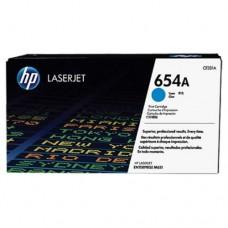 HP 654A Cyan LaserJet Toner Cartridge -  CF331A