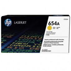 HP 654A Yellow LaserJet Toner Cartridge -  CF332A