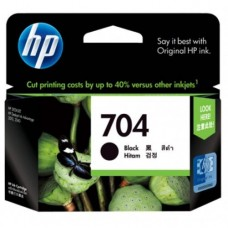 HP 704 Black Ink Cartridge - CN692AA
