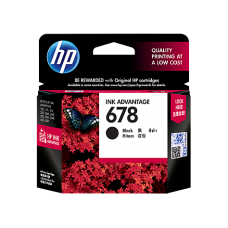 HP 678 Black Ink Cartridge - CZ107AA