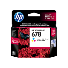 HP 678 Tri-color Ink Cartridge - CZ108AA