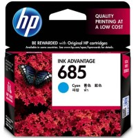 HP 685 Cyan Ink Cartridge - CZ122AA