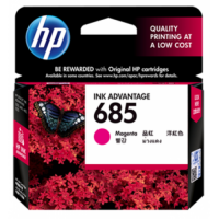 HP 685 Magenta Ink Cartridge - CZ123AA