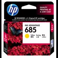 HP 685 Yellow Ink Cartridge - CZ124AA