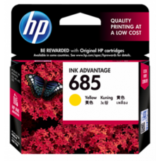 HP 685 Yellow Ink Cartridge - CZ124AA