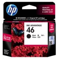 HP 46 Black Ink Cartridge - CZ637AA