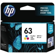 HP 63 Tri-color Ink Cartridge  - F6U61AA