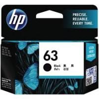 HP 63 Black Ink Cartridge - F6U62AA