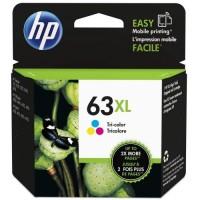 HP 63XL Tri-color Ink Cartridge  - F6U63AA