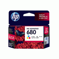 HP 680 Tri-color Ink Cartridge  - F6V26AA