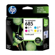 HP 685 CMYK Ink Cartridge Combo 4-Pack  - F6V35AA