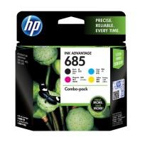 HP 685 CMYK Ink Cartridge Combo 4-Pack  - F6V35AA