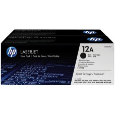 HP LaserJet 1000/3000 Crtg Dual Pack -  Q2612AD