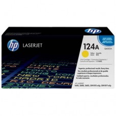 HP CLJ 2600 Series Yellow Print Cartridge -  Q6002A