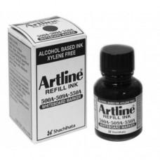 Artline Whiteboard Markers ESK-50A - Refill Ink 20ml Black
