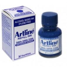 Artline Whiteboard Markers ESK-50A - Refill Ink 20ml Blue
