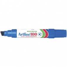 Artline 100 Permanent Markers Blue