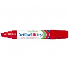 Artline 100 Permanent Markers Red