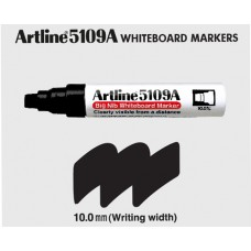 Artline 5109A WhiteBoard Marker -Black 10mm